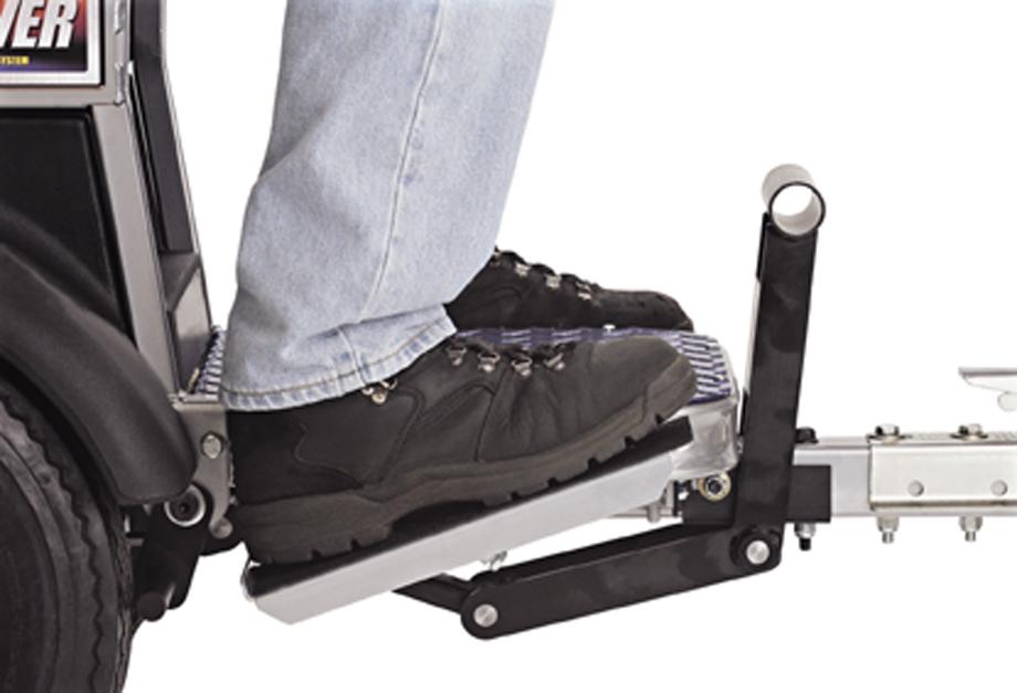 Graco LineLazer back pedal